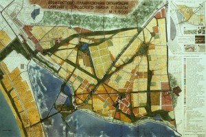 Проект планировки Чембурка